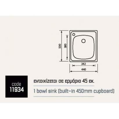 Sanitec Mondial 11934 ( 44...